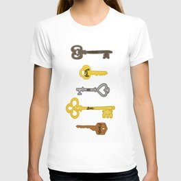 Keys to Recovery T-shirt