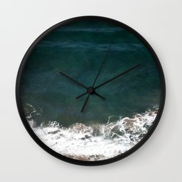 Wave Crash Wall Clock