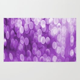 Bokeh Light Purple Tone #decor #society6 #buyart Rug