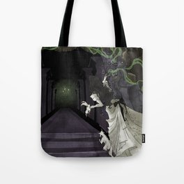 When candelights flicker... Tote Bag