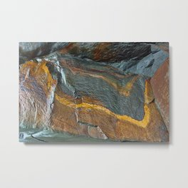 Abstract rock art Metal Print