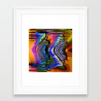skiing Framed Art Prints featuring Swiftly Skiing by Robin Curtiss