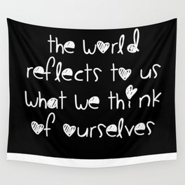 World Reflection Wall Tapestry