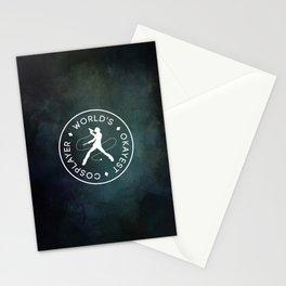World's Okayest Cosplayer (Dark) Stationery Cards