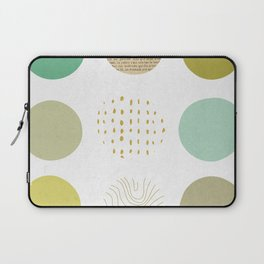 Circles Boxed In Laptop Sleeve