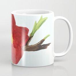 Bright Red Plumb Blossom Coffee Mug