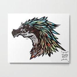 PeaDerg Metal Print