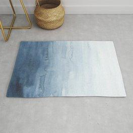 Indigo Abstract Painting | No. 4 Rug