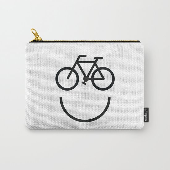 Bike face, bicycle smiley by illustree