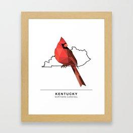 Kentucky – Northern Cardinal Framed Art Print