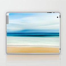Peaceful ocean waves Laptop & iPad Skin