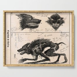 Flegellum de Bestia: Scourge Beast Serving Tray