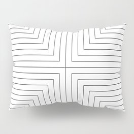 Converge Three Black Pillow Sham