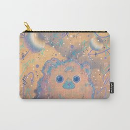 Fuzzy Creature in the Clouds Carry-All Pouch