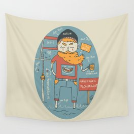 Berliner Kind Wall Tapestry