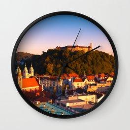 LJUBLJANA 02 Wall Clock