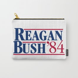 reagan bush 84 Carry-All Pouch