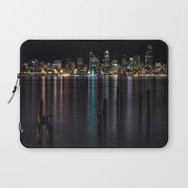 Seattle At Night Laptop Sleeve