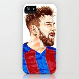 Messi - Barcelona iPhone Case