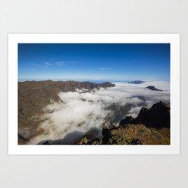 La Palma landscape Art Print