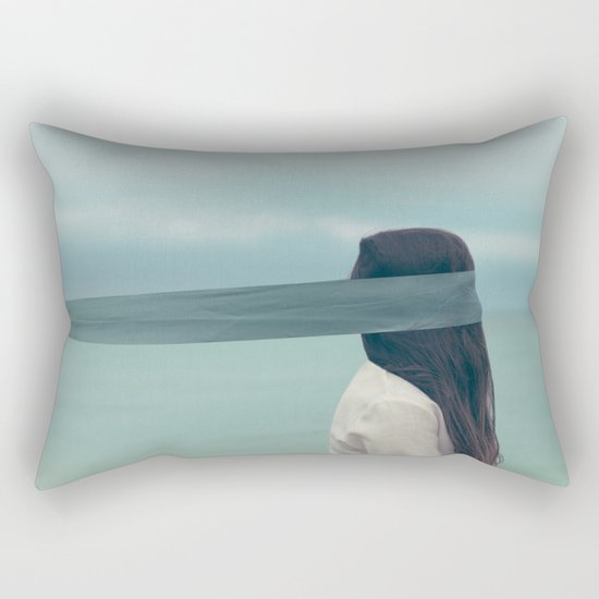 Inhibition Rectangular Pillow