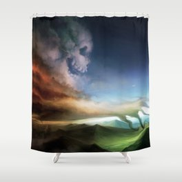 Legacy of Mankind Shower Curtain