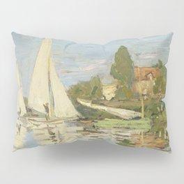 Regattas at Argenteuil by Claude Monet Pillow Sham