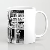 cheese Mugs featuring Cheese. by Samuel Guerrero