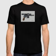 Shoot First. Mens Fitted Tee X-LARGE Black