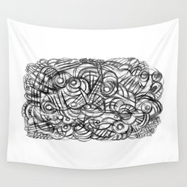 eyes, lashed Wall Tapestry