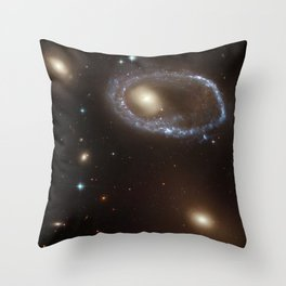 Ring Galaxy AM 0644-741 Throw Pillow
