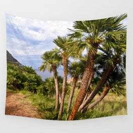 Sicilian Sound of Paradise Wall Tapestry