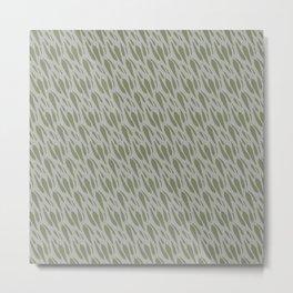 Gum Leaves Metal Print