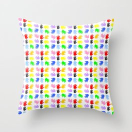 Hand 13 Throw Pillow