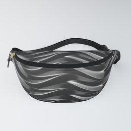 GRIEVE shades of dark grey weave together to gain strength Fanny Pack