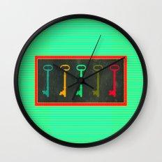 Key choice Wall Clock