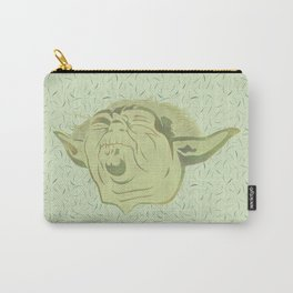 Yoda and the green force Carry-All Pouch