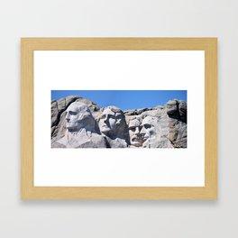 Mount Rushmore Framed Art Print