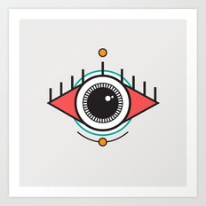 The Seeing Eye Art Print
