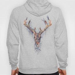 Deer skull, modern, deconstruction Hoody