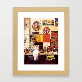 Blakspot Redfern Framed Art Print