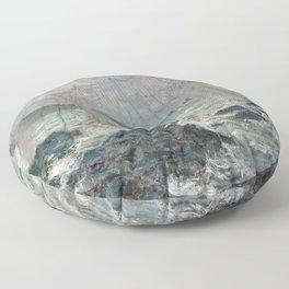 Claude Monet - Fishing nets at Pourville, 1882 Floor Pillow