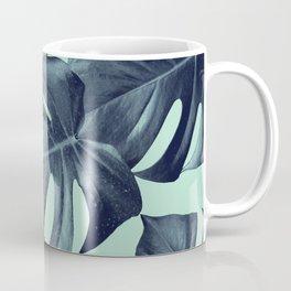 Monstera Leaves Pattern #10 #tropical #decor #art #society6 Coffee Mug