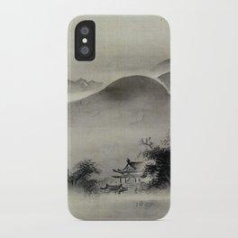 Kano Tsunenobu Temple iPhone Case
