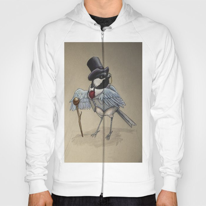 Top Hat Chickadee Hoody