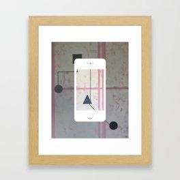 Sum Shape - iPhone graphic Framed Art Print