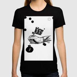 pen and inkpot T-shirt
