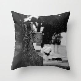 Six-Feet Above Throw Pillow