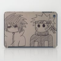 naruto iPad Cases featuring Naruto Anime by TayRavenna