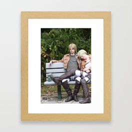 20150926 Mike X Nanaba, Relax Framed Art Print